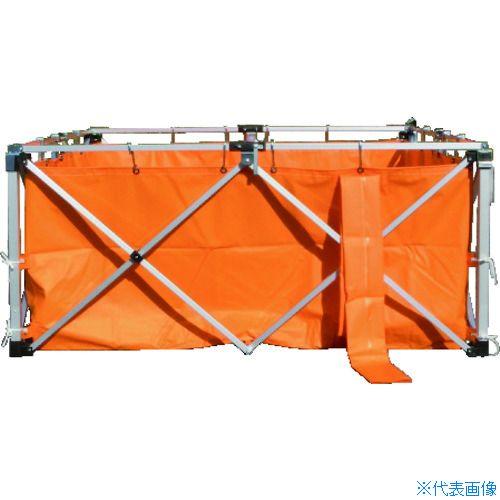 ■KOK オールアルミワンタッチ水槽 WS2.5-A5 越智工業所[TR-8359903] [送料別途お見積り]