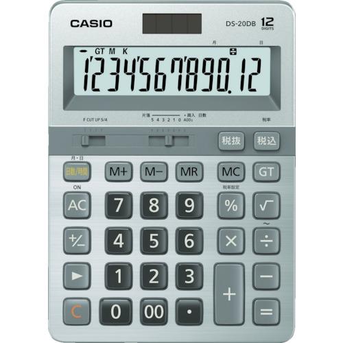 ■カシオ 本格実務電卓 DS-20DB-N カシオ計算機(株)[TR-8362055]
