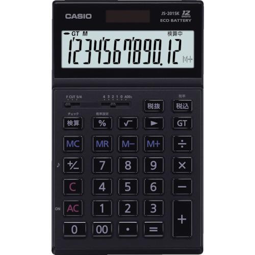 ■カシオ 本格実務電卓 JS-201SK-BK-N カシオ計算機(株)[TR-8362059]