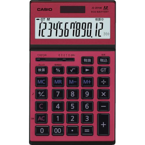 ■カシオ 本格実務電卓 JS-201SK-RD-N カシオ計算機(株)[TR-8362060]