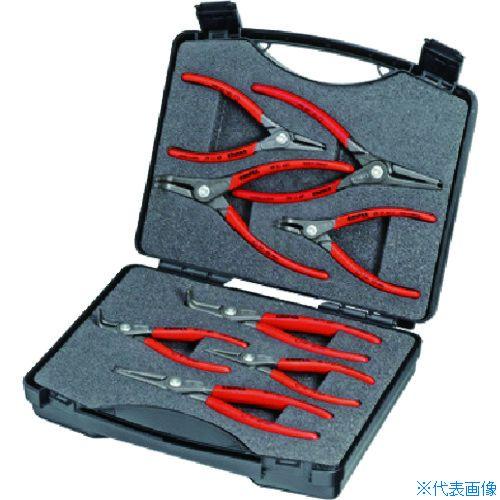 驚きの安さ 8本組 ?KNIPEX スナップリングプライヤー KNIPEX社[TR-8363367]:セミプロDIY店ファースト 002125-DIY・工具