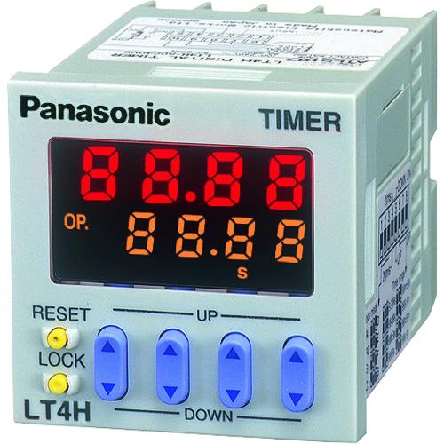 ■Panasonic 電子カウンタ LT4H RyDC12ー24V ネジ締め ATL5181 [TR-8364906]