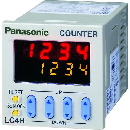 ■Panasonic 電子カウンタ LC4H-S AC100-240Vネジ締 AEL5187PS [TR-8364938]