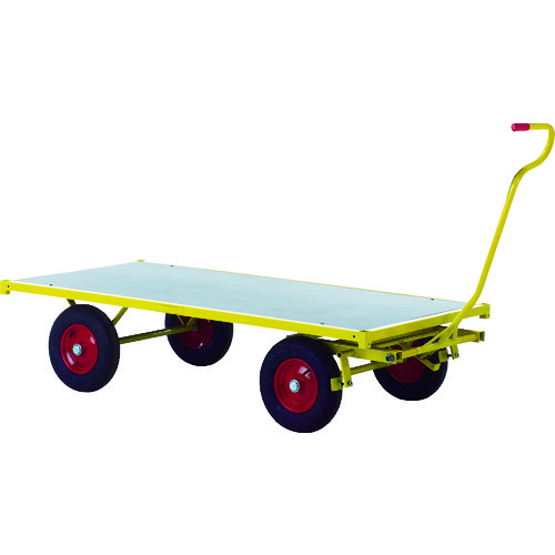 ■RAVENDO 大型重量運搬車 TW1500 穴なしハンドル 144005 RAVENDO社[TR-8367728] [個人宅配送不可]