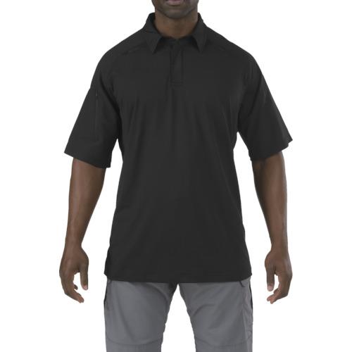 ■5.11 半袖 ラピッドパフォーマンスポロ ブラック XS 41018-019-XS 5.11社[TR-8369359]