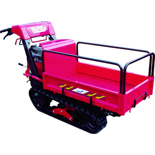■CANYCOM 小型クローラ運搬車 ピンクレディポピー  〔品番:BP51YACFD〕[TR-8371141]【大型・重量物・個人宅配送不可】