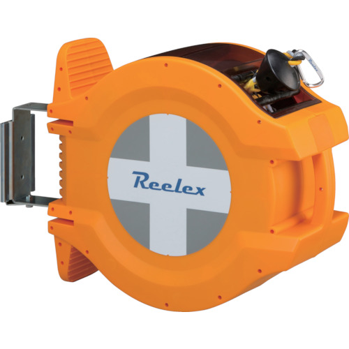 安心と信頼 中発販売 安全コーン ■Reelex バリアロープリール 品番:BRR-1220HL 反射トラロープ20m TR-8553137 国際ブランド