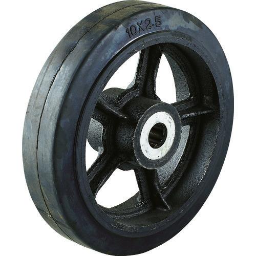 ■TRUSCO ドラム缶運搬車TDR-1用250mmゴム車輪 TDR-1-10C トラスコ中山(株)[TR-8555485] [送料別途お見積り]