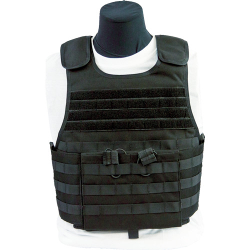 ■US Armor 防弾ベスト MSTV500(6000) ブラック L F-500777-RS-BLK-L U.S. Armor社[TR-8557198]