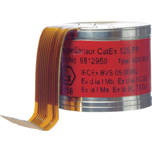 ■Drager 接触燃焼式センサー 可燃性ガス(測定対象ガス:ペンタン) 6812950-34 [TR-8558441] [送料別途お見積り]