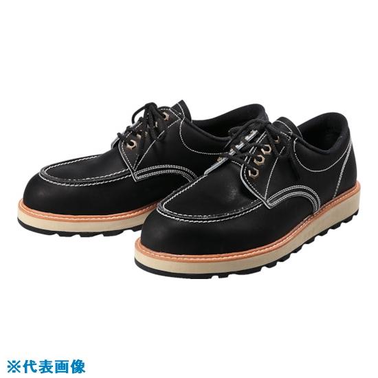 ■青木安全靴 US-100BK 24.5cm US-100BK-24.5 青木産業(株)[TR-8559137]