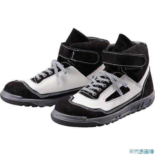 ■青木安全靴 ZR-21BW 24.0cm ZR-21BW-24.0 青木産業(株)[TR-8559156]