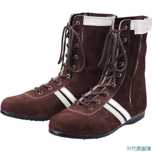 ■青木安全靴 高所作業用安全靴 WAZA-F-2 24.5cm WAZA-F-2-24.5 青木産業(株)[TR-8559207]