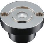■プレインベア スプリング付 上向き・下向き兼用 スチール製 PV50CF (株)エイテック[TR-8560294]