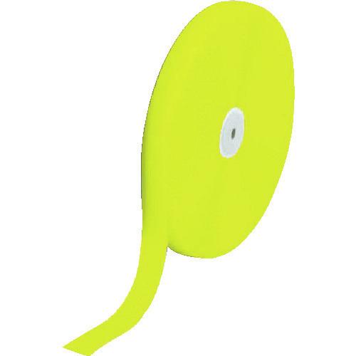 ■TRUSCO マジックテープ 縫製用A側 25mm×25m 蛍光イエロー TMAH-2525-LY トラスコ中山(株)[TR-8560768]