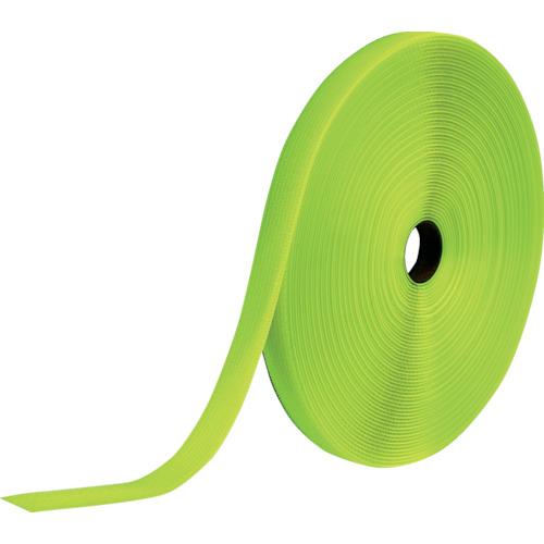 ■TRUSCO フリーマジック[[R下]]結束テープ片面蛍光イエロー25mm25m MKT25B-LY トラスコ中山[TR-8560783]