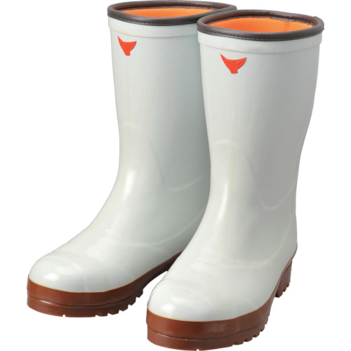 ■SHIBATA 安全防寒スーパークリーン長7型(白) 24.5cm AC040-24.5 シバタ工業[TR-8562629]