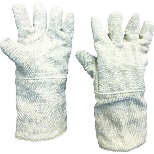 ■TRUSCO 生体溶解性セラミック耐熱手袋 5本指タイプ TCAT5-A トラスコ中山(株)[TR-8567497]