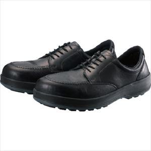 ■シモン 耐滑・軽量3層底静電紳士靴BS11静電靴 25.5cm BS11S-255 (株)シモン[TR-8567503]