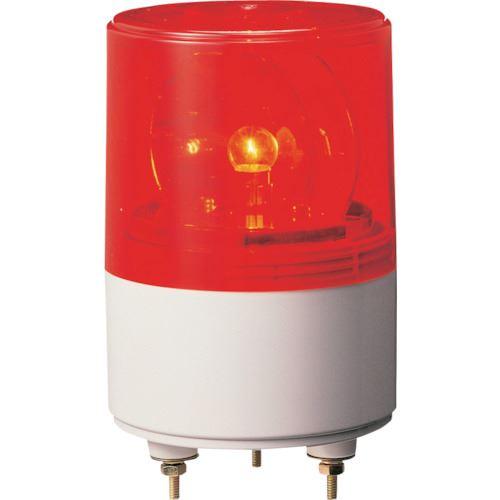 ■パトライト 超小型回転灯 〔品番:RS-100-R〕[TR-8568277][送料別途見積り][法人・事業所限定][掲外取寄]