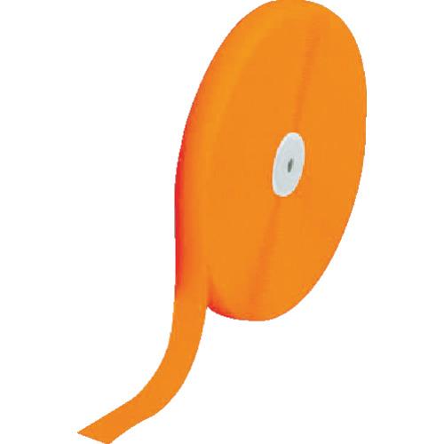 ■TRUSCO マジックテープ 縫製用A側 50mm×25m 蛍光オレンジ TMAH-5025-LOR トラスコ中山(株)[TR-8590918]