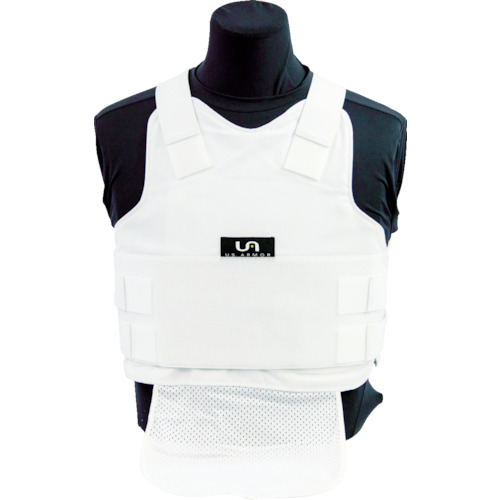 ■US Armor Armor インナーキャリア ポリコットン(男性用) ホワイト M F-500302-WHITE-M U.S. Armor社[TR-8594433]