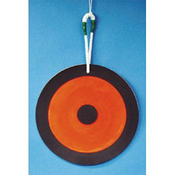 安全標識 53-Y 重機取扱い標識 玉掛重心ターゲット表示 φ500 合成ゴム