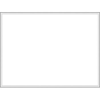 安全標識 KG-38A 大型掲示板パーツ ホワイトボード 900×1200mm ホーロー