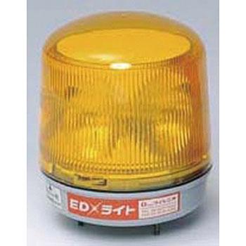 安全標識 6245-Y EDライト ソーラー式・マグネット型 黄 [送料別途お見積り]