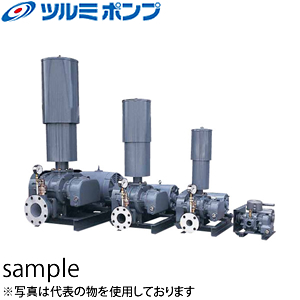 鶴見製作所(ツルミポンプ) 曝気用 ルーツブロワ RSR-65 三相200V 60Hz(西日本用) 口径65mm 1.5kw