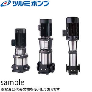 鶴見製作所(ツルミポンプ) 一般揚水用 立形多段うず巻インラインポンプ TCR3-29 50Hz(東日本用)