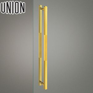 UNION(ユニオン) G1106-01-015 棒タイプ(ミドル/コンテンポラリー) L700mm 1セット(内外) 建築用ドアハンドル[ネオイズム]