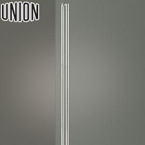 適応ドア:ガラスドア(フラッシュドアにも取付可能) UNION(ユニオン) G2751-31-010 棒タイプ(セミロング) L1300mm 1セット(内外) 建築用ドアハンドル[ネオイズム]