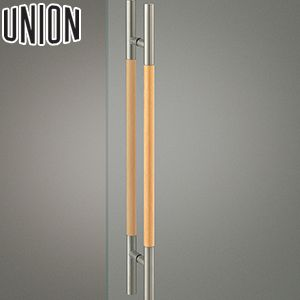 UNION(ユニオン) G2888-21-702 棒タイプ(ミドル/コンテンポラリー) L800mm 1セット(内外) 建築用ドアハンドル[ネオイズム]