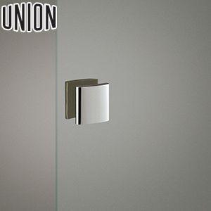 適応ドア:ガラスドア(フラッシュドアにも取付可能) UNION(ユニオン) G345-01-001 板タイプ(プレート) 115mm 1セット(内外) 建築用ドアハンドル[ネオイズム]