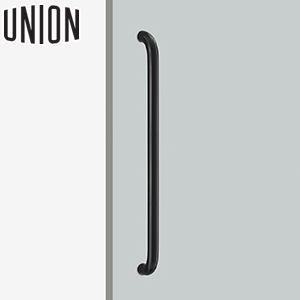 UNION(ユニオン) H1161-83-691 病院・福祉タイプ(ケアハンドル) L629mm 1セット(内外) 建築用ドアハンドル[ネオイズム]