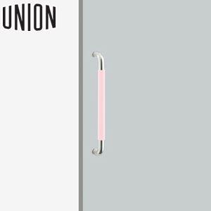 UNION(ユニオン) H2051-58-124-L452 病院・福祉タイプ(ケアハンドル) L452mm 1セット(内外) 建築用ドアハンドル[ネオイズム]