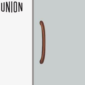 UNION(ユニオン) H2102-02-699 病院・福祉タイプ(ケアハンドル) L475mm 1セット(内外) 建築用ドアハンドル[ネオイズム]