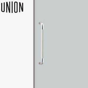 適応ドア:フラッシュドア(ガラスドアにも取付可能) UNION(ユニオン) H2154-54-077 病院・福祉タイプ(ケアハンドル) L452mm 1セット(内外) 建築用ドアハンドル[ネオイズム]