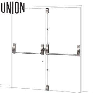 適応ドア:フラッシュドア 内部側から見て左勝手 UNION(ユニオン) PH777-20W-L 非常出口タイプ(パニック) mm 1セット 建築用ドアハンドル[ネオイズム] 内部側から見て左勝手