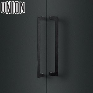 適応ドア:フレーム・フラッシュドア(ガラスドアにも取付可能) UNION(ユニオン) T1050-25-191 棒タイプ(ミドル/その他) L500mm 1セット(内外) 建築用ドアハンドル[ネオイズム]
