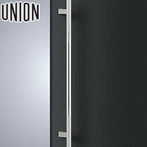 適応ドア:フレーム・フラッシュドア(ガラスドアにも取付可能) UNION(ユニオン) T1131-01-020 棒タイプ(ミドル/スタンダード) L800mm 1セット(内外) 建築用ドアハンドル[ネオイズム]