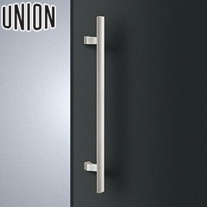 適応ドア:フレーム・フラッシュドア(ガラスドアにも取付可能) 内開き UNION(ユニオン) T1178-01-023-U 棒タイプ(ミドル/コンテンポラリー) L650mm 1セット(内外) 建築用ドアハンドル[ネオイズム] 内開き
