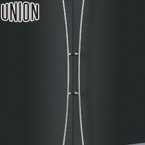 適応ドア:フレーム・フラッシュドア(ガラスドアにも取付可能) UNION(ユニオン) T3005-01-034-A 棒タイプ(ロング) オーダー対応:L1700~2192mmまで 1セット(内外) 建築用ドアハンドル[ネオイズム][受注生産品]