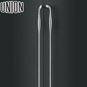 UNION(ユニオン) T3305-01-001-L 棒タイプ(セミロング) L1300mm 1セット(内外) 建築用ドアハンドル[ネオイズム] 左吊元