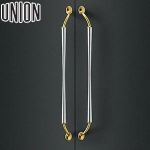 UNION(ユニオン) T989-02-001 棒タイプ(ミドル/ラグジュアリー) L700mm 1セット(内外) 建築用ドアハンドル[ネオイズム]