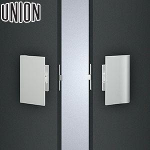 UNION(ユニオン) ULS2571-26-038-S 錠付きタイプ(プッシュプル) 100×180mm 1セット(内外) 錠前別 建築用ドアハンドル[ネオイズム] 外開き