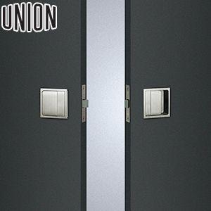 UNION(ユニオン) ULS302-A 掘込タイプ(堀込ハンドル) □80mm 1セット(内外) 建築用ドアハンドル[ネオイズム]