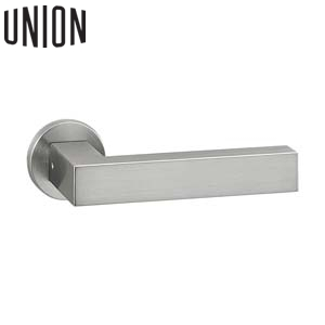UNION(ユニオン) UL1001-001S 空錠WFS01001付 電気錠対応ドアレバーハンドル[イノヴ]