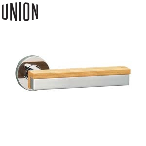 UNION(ユニオン) UL1009-001S-R 空錠WFS01001付 右吊元電気錠対応ドアレバーハンドル[イノヴ]